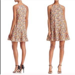 Rebecca Taylor Moonlight Drop-Waist Floral Dress